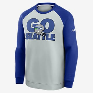 Nike Historic Raglan (NFL Seahawks) Men's Sweatshirt