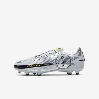 Nike Jr. Phantom Scorpion Academy MG Calzado de fútbol para múltiples superficies para niños talla pequeña/grande