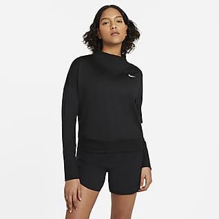 Nike Camiseta de cuello redondo de running para mujer