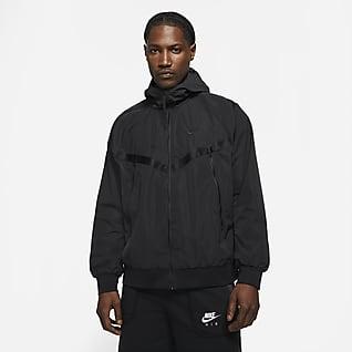 Nike Sportswear Premium Essentials Мужская куртка Windrunner с капюшоном без подкладки