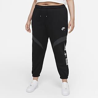 Nike Air Dámské běžecké kalhoty (větší velikost)