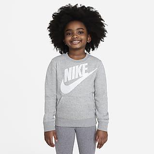 Nike Sportswear Sudadera con capucha sin cierre para niños talla pequeña