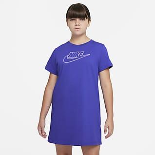 Nike Sportswear Big Kids' (Girls') T-Shirt Dress (Extended Size)