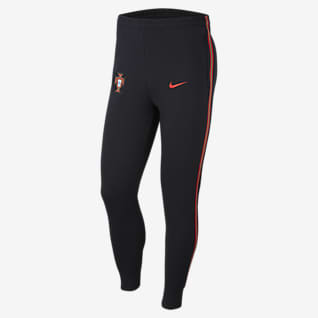 Portugal Men's Fleece Football Trousers