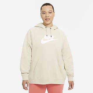 Nike Sportswear Essential Sudadera con capucha para mujer (talla grande)