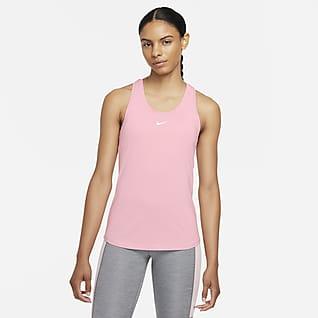 Nike Dri-FIT One Aansluitende tanktop voor dames