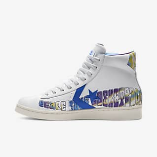 """Pro Leather """"Peace Love Basketball"""" High Top"""