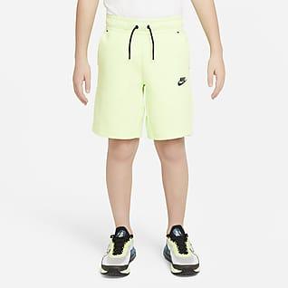 Nike Sportswear Tech Fleece Shorts til store børn (drenge)