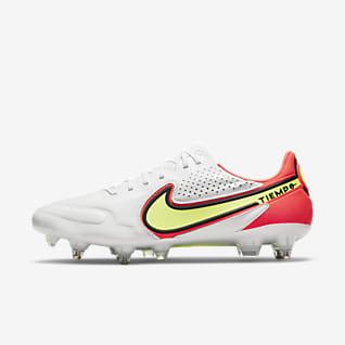 Nike Tiempo Legend 9 Elite SG-Pro AC Chaussure de football à crampons pour terrain gras
