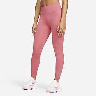 Nike Dri-FIT One Leggings mit mittelhohem Bund für Damen