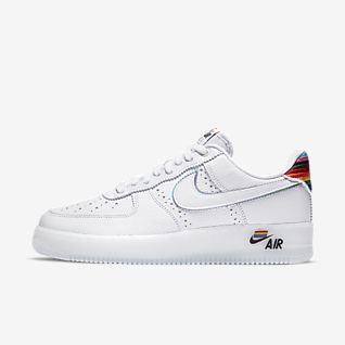 Womens White Air Force 1 Low Top Shoes. Nike.com