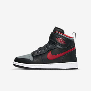 Air Jordan 1 Hi FlyEase รองเท้าเด็กโต