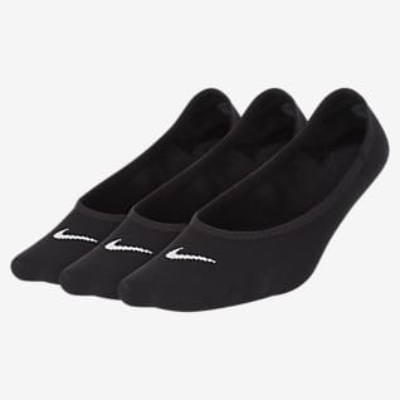 Nike Everyday Lightweight Calcetines invisibles de entrenamiento para mujer (3 pares)