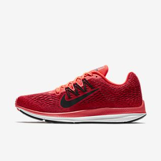 dark red nike shoes