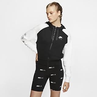Nike Air Damen-Hoodie mit durchgehendem Reißverschluss