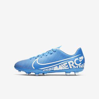 Nike Jr. Mercurial Vapor 13 Club MG Chaussure de football multi-surfaces à crampons pour Jeune enfant/Enfant plus âgé