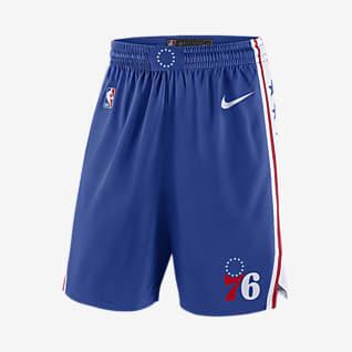 Philadelphia 76ers Icon Edition Swingman Men's Nike NBA Shorts