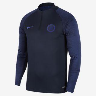 Chelsea FC Strike Fodboldtræningstrøje til mænd