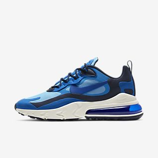 nike airmax suede blauw