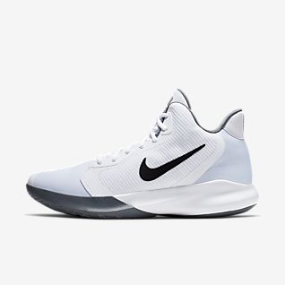 white bball shoes