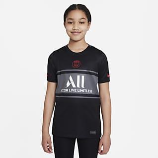 Paris-Saint Germain 2021/22 Stadium Third Nike Dri-FIT fodboldtrøje til større børn