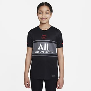 Paris Saint-Germain 2021/22 Stadium Third Older Kids' Nike Dri-FIT Football Shirt
