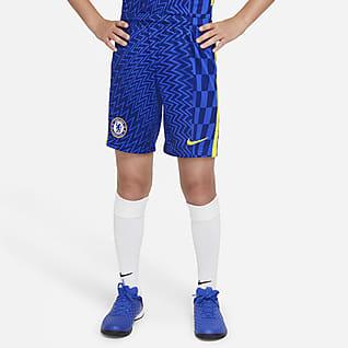 Chelsea FC 2021/22 Stadium - Home Shorts da calcio - Ragazzi