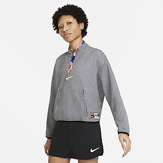 Nike F.C. Dri-FIT Chaqueta con cremallera de 1/4 - Mujer