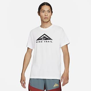 Nike Dri-FIT Kortærmet trail-løbe-T-shirt
