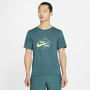 Nike Dri-FIT Miler Wild Run Men's Short-Sleeve Running Top
