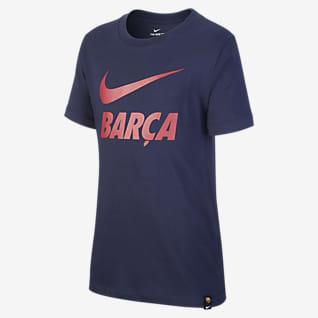 FC Barcelona Fodbold-T-shirt til store børn