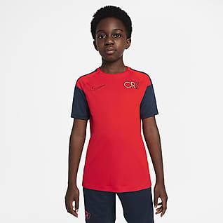 Nike Dri-FIT CR7 Big Kids' Short-Sleeve Soccer Top