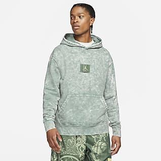 Jordan Flight Ανδρική μπλούζα με κουκούλα και σχέδια
