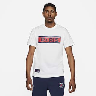 Paris Saint-Germain Wordmark เสื้อยืดผู้ชาย