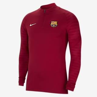 FC Barcelona Strike Erkek Futbol Antrenman Üstü
