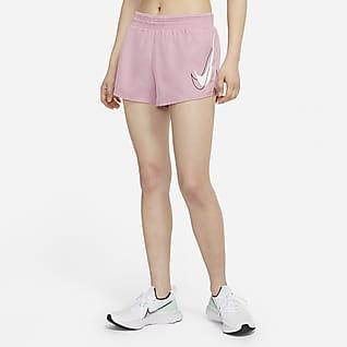 Nike Dri-FIT Swoosh Run กางเกงวิ่งขาสั้นผู้หญิง