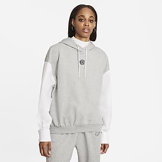 Nike Sportswear Icon Clash Huvtröja för kvinnor