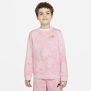 Nike Sportswear Magic Club Sudadera Tie-Dye para niño talla grande