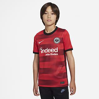 Eintracht Frankfurt 2021/22 Stadium Uit Voetbalshirt voor kids