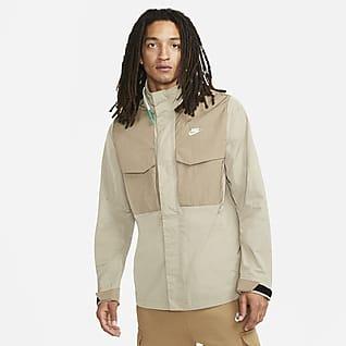 Nike Sportswear Premium Essentials Мужская куртка M65 с капюшоном без подкладки