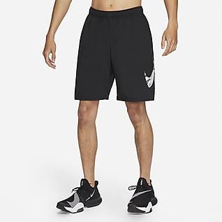 Nike Flex กางเกงเทรนนิ่งขาสั้นผู้ชายมีกราฟิกลายพราง