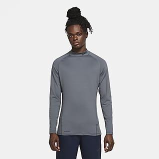 Nike Pro Warm Męska koszula z długim rękawem