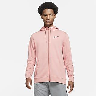 Nike Dri-FIT Træningshættetrøje med lynlås til mænd