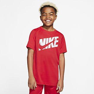 Nike Haut de training à manches courtes pour Garçon plus âgé