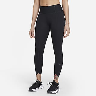 Nike One Luxe Icon Clash Leggings recortadas para mulher