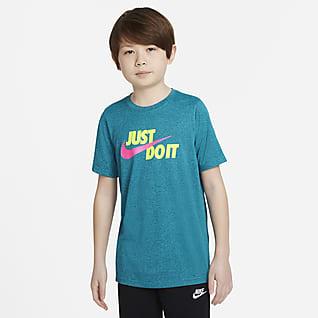 Nike Dri-FIT Playera de entrenamiento para niño talla grande