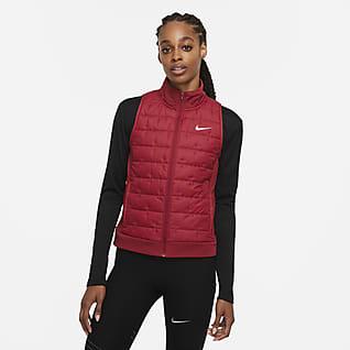 Nike Therma-FIT Γυναικείο αμάνικο τζάκετ για τρέξιμο με συνθετικό γέμισμα
