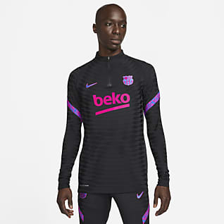 FC Barcelona Strike Elite Playera de entrenamiento de fútbol Nike Dri-FIT ADV para hombre