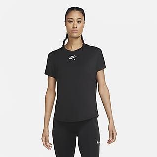 Nike Air Camiseta de running de manga corta para mujer