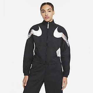 Nike Sportswear เสื้อแจ็คเก็ตแบบทอผู้หญิง